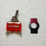 ENGINE STOP BUTTON(MINI MID XRS) / LED LIGHT SWITCH(MID XRX)