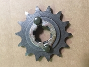 DRIVE SPROCKET,14 Teeth with locking plate and bolts